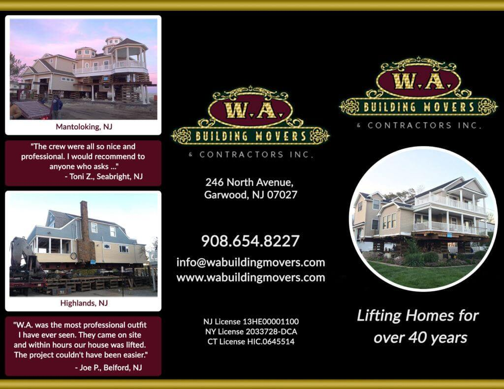 W.A. Building Movers Brochur
