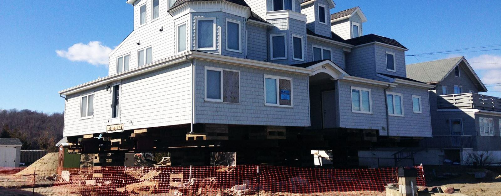 House elevation contractors 1 best house lifters in nj for Houston house elevation