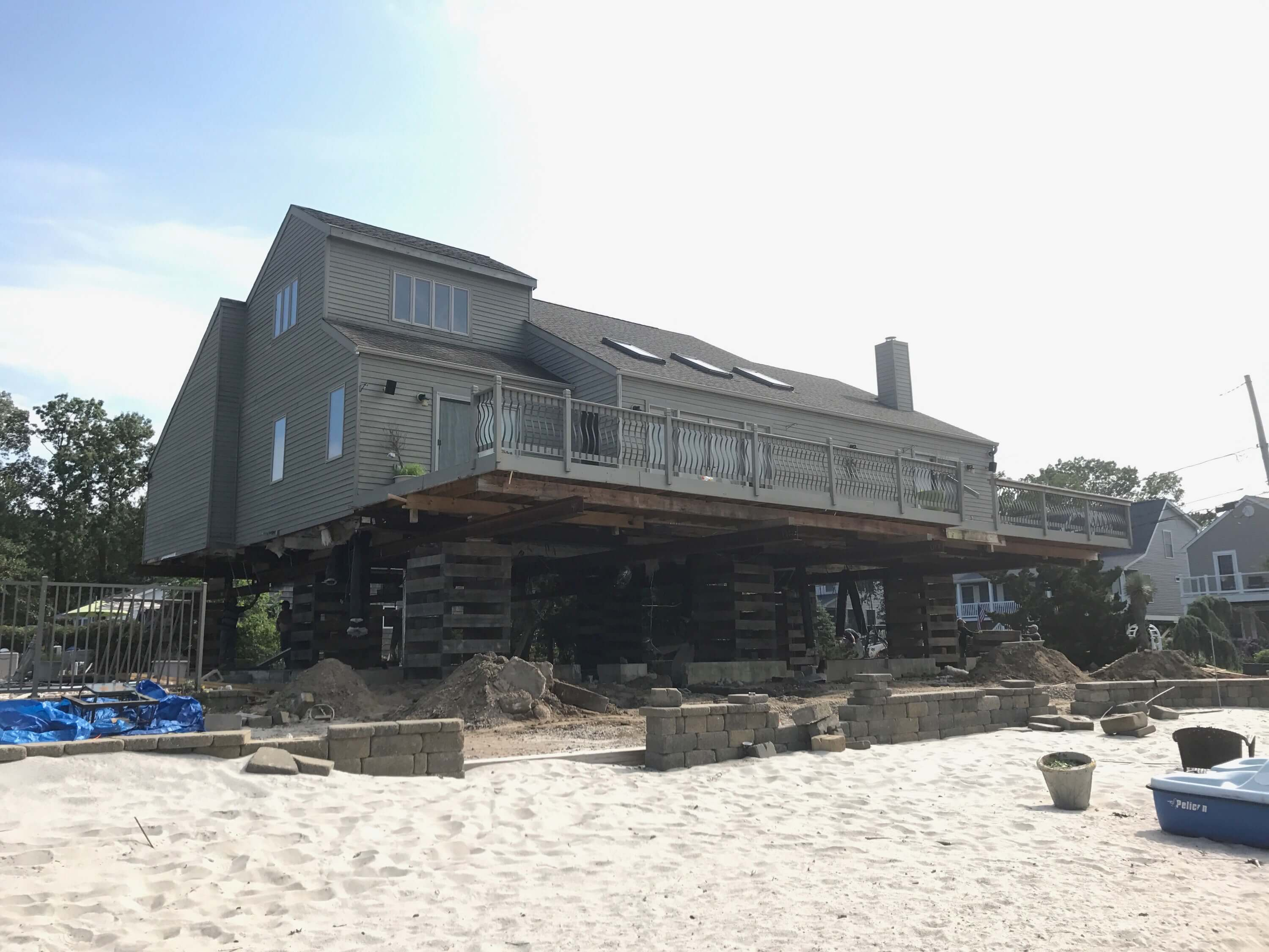 Timber Frame foundation Repair New Jersey