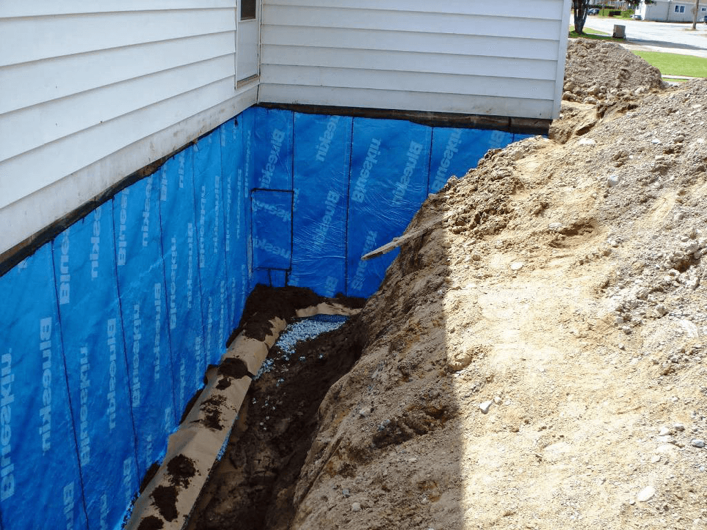 foundation waterproofing membrane