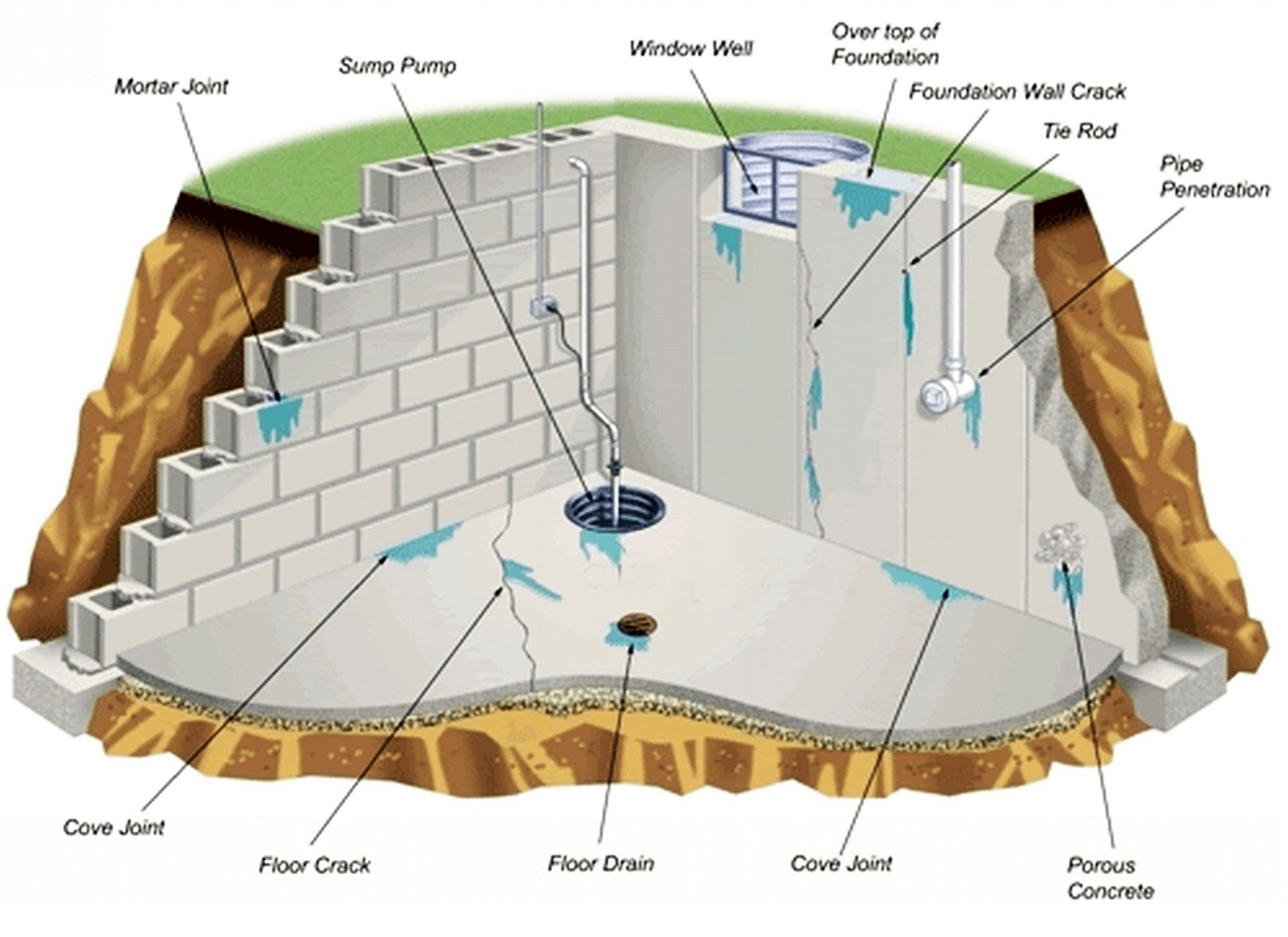 Basement Waterproofing Company New Jersey Cost Effective