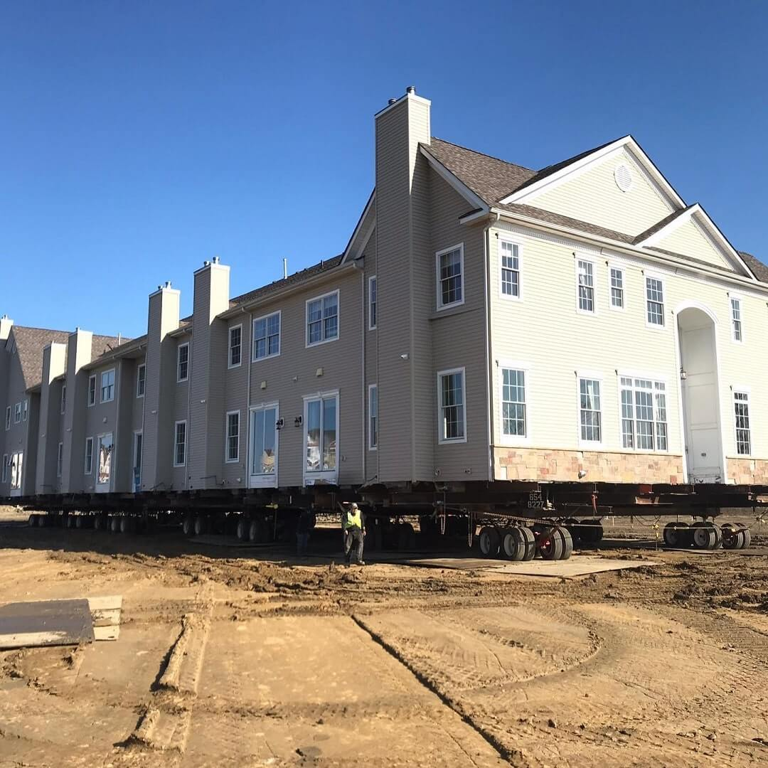 Raising Foundation of House in PA